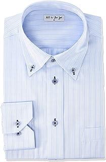 [アトリエサンロクゴ] お洒落な 長袖 ワイシャツ 形態安定 長袖Yシャツ ビジネスシャツ メンズ ybd