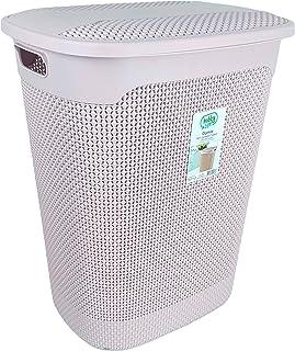 Hobby Life Laundry Basket Raindrop Design (Powder Pink)