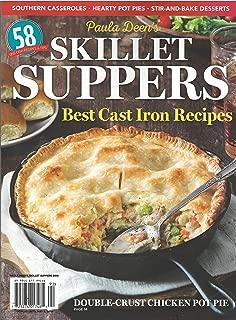 Paula Deen's Skillet Suppers Best Cast Iron Recipe Magazine 2019