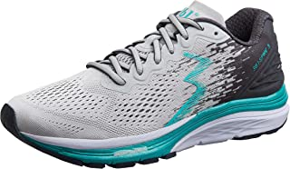 361 Degrees Women's Spire 3 High Performance and Mileage Lightweight Running Shoe, Grey, 7
