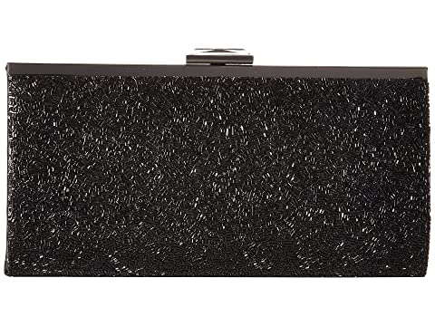 bf3f04c758 Jessica McClintock Laura Sparkle Beading Framed Clutch at Zappos.com