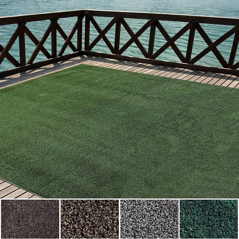 iCustomRug Outdoor Turf Rug in Green 1 In Grass Soldering Artificial Sale X 12'