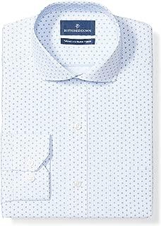 Amazon Brand - BUTTONED DOWN Men's Tailored Fit Check Dress Shirt, Supima Cotton Non-Iron