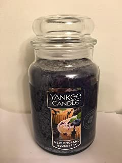 Yankee Candle New England Blueberry Large Jar Candle