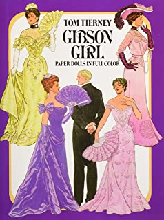 Gibson Girls Paper Dolls in Full Colour (Dover Victorian Paper Dolls)