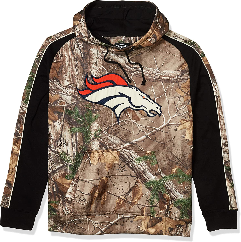 OTS NFL Denver Broncos Men's Logo Medium Hoodie National Super special price uniform free shipping Decoy