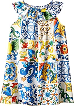 Poplin Maioliche Dress (Toddler/Little Kids)