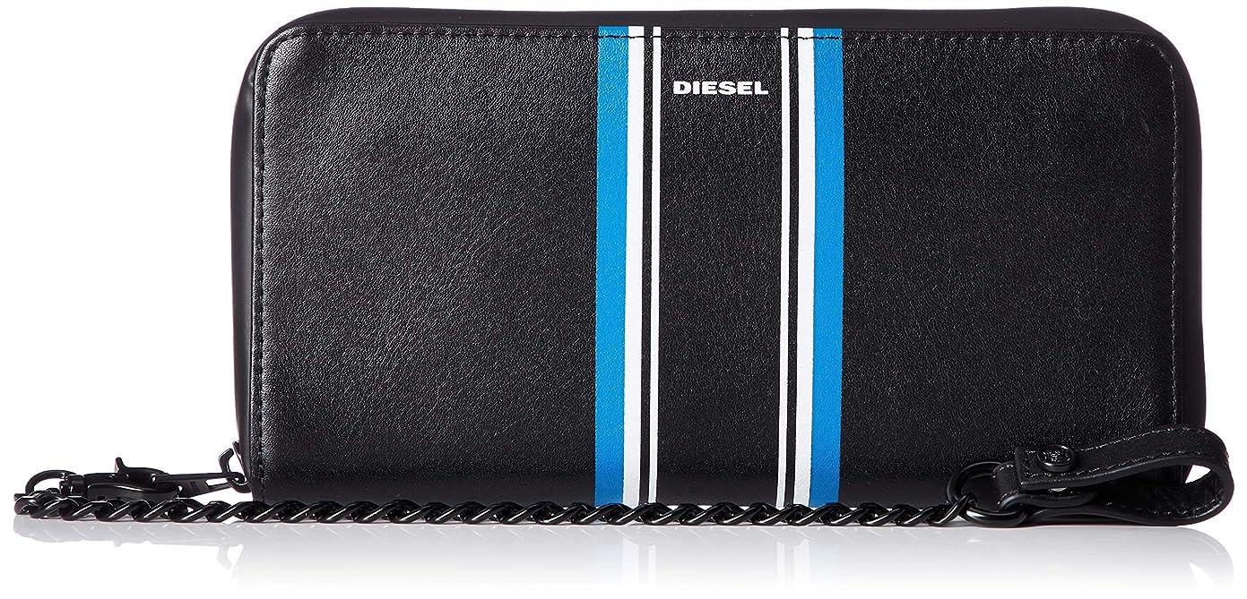 入札早熟大気(ディーゼル) DIESEL メンズ 財布 ジップ付き 長財布 X06157PR400