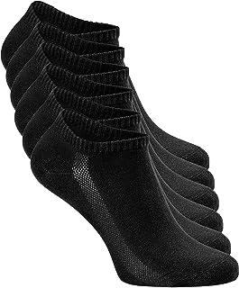 Greylags, Calcetines Prima Calidad deportiva Respirable Reinforced Sneaker Calcetines | Hombres y mujeres | 80% Algodón | Certificado Oeko-Tex Standard 100 | Paquete de 6