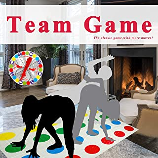 Team Game,Children Board Game Learning Gift for Boys and Girls,[no Box,Simple Package] Family Party Game, Adults Picnic Outdoor Sport Twister Game