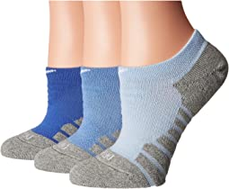 Dry Cushion No Show Training Socks 3-Pair Pack