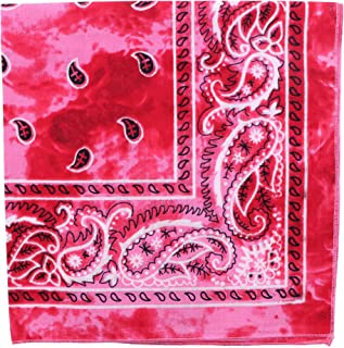 Pink Paisley Bandana MB Race For Life Accessory 2 Pc Set Pink Sequin Trilby Hat