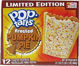 Kellogg's Pop-Tarts - Pumpkin Pie (Limited Edition) - 12 Toaster Pastries, 21.1-oz.