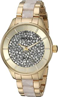 Women's Angel Quartz Watch with Stainless-Steel Strap, Two Tone, 8 (Model: 24666)