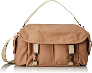 Domke F-2 original shoulder bag 700-02S (Sand) for Canon, Nikon, Sony, Leica, Fujifilm & Olympus DSLR or Mirrorless cameras with space for multiple lenses up to 300mm and accessories