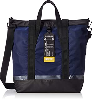 Diesel Men's VOLPAGO Tote-Shopping Bag, dark navy/black, UNI