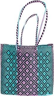OTOMI MEXICO - Borsa da Spiaggia - Borsa tote in materiale riciclato - shopper realizzata a mano - Beach bag - Borsa Tote ...