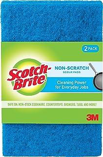 Scotch-Brite Multi-Purpose Non-Scratch Scour Pads 2 Pads/Pack, 10 packs/case (20 Pads total)