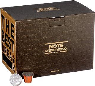 comprar comparacion Note D'Espresso - Cápsulas de manzanilla con miel y naranja, 6g (caja de 100 unidades) Exclusivamente Compatible con cafe...