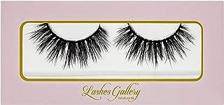 Lashes Gallery Mink 3D False Fake Eyelashes. Style: FLIRTY. Cruelty-Free. Genuine Premium Siberian Mink Fur False Lashes