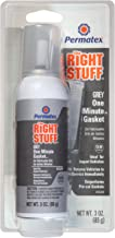 Permatex 25238 The Right Stuff Grey Gasket Maker, 3 oz.