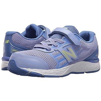New Balance Kids KA680v5I (Infant/Toddler) (Ice Violet/Twilight) Girls Shoes