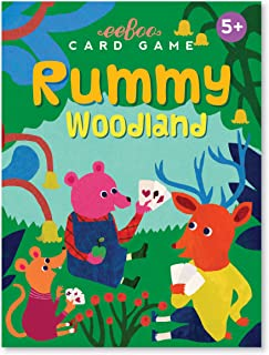 eeBoo Woodland Rummy Card Game for Kids