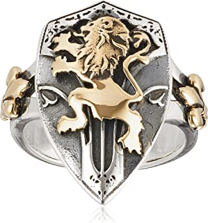 [SAINTS] 圣盾狮子银戒指