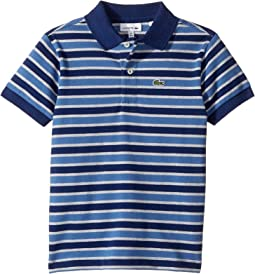 Short Sleeve Small Multi Stripe (Infant/Toddler/Little Kids/Big Kids)