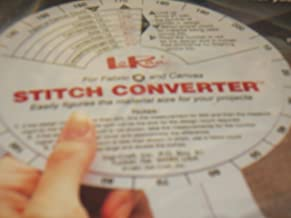 Material/Fabric/Canvas Stitch Converter ... Easily Figures the material size for your project