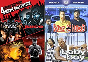 Gangsta Flow of Words and Music 6-Movie Bundle - Boyz N the Hood, Baby Boy, Juice, Hustle & Flow, Tupac: Ressurection and Get Rich or Die Tryin' DVD Collection