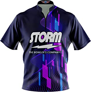 Logo Infusion Bowling Dye-Sublimated Jersey (Sash Collar) - Storm Style 0514 - Sizes S-4XL