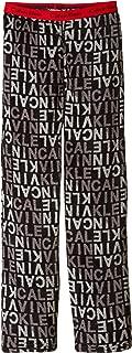 Calvin Klein Little Boys' CK Logo Plush Sleep Pant
