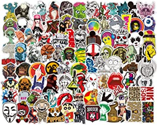 100 pcs/Pack Mixed Stickers for Luggage Laptop Decal Toys Bike Car Motorcycle Phone Snowboard Funny Doodle Cool DIY Sticker