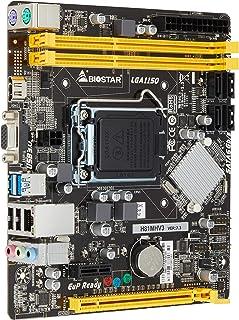 BIOSTAR Intel LGA1150 CPU対応 H81チップセット搭載 MicroATXマザーボード H81MHV3 [国内正規代理店品]