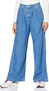 Levi's Pleated Wide Leg Trouser Pantaloni Donna