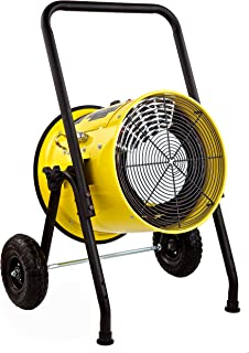 Dr Infrared Heater DR-PS11024 Salamander Construction 10000-Watt, Single Phase, 240-Volt Portable Fan Forced Electric Heater