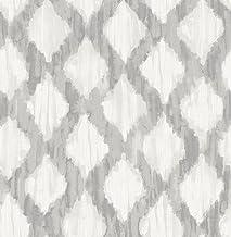 ورق جدران بتصميم ورق حائط قابل للإزالة من NuWallpaper NU2922 رمادي