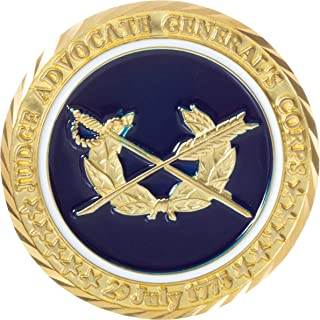 United States Judge Advocate General's Corps Challenge Coin