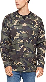 Burton Snowboards Men's Crown Bonded Crew Shirt, Seersucker Camo, Medium