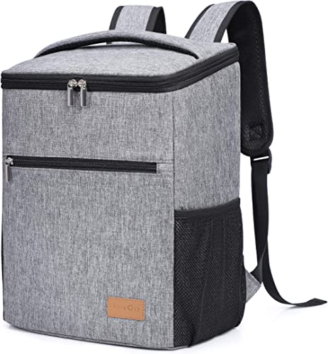 Lifewit 24L Sac à Dos Isotherme à Glacière Cooler Backpack Bag, Sac Isotherme Portable pour Déjeuner Plage Pique-Niqu...