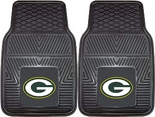 FANMATS NFL Green Bay Packers Vinyl Heavy Duty Car Mat