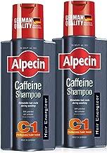 Alpecin Caffeine Shampoo C1 - against hair loss in men, bundle set of 2 x 250ml