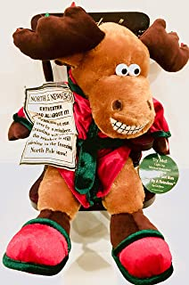 Dandee Grandma Got Run Over by A Reindeer Musical Animated Lighted Plush 13 Inch in Rocking Chair