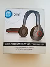 ONN Wireless Headphones with Transmitter