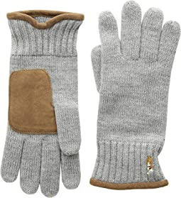 Classic Lux Merino Gloves with Leather Palm