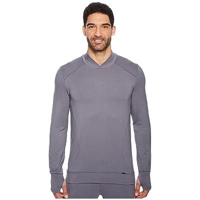 Hanro Living Relax Pullover (Slate Gray) Men