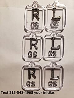 Three Sets of Clear Xray Markers