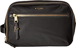 Voyageur Erie Double Zip Cosmetic Case