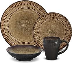 Pfaltzgraff Cambria 16-Piece Stoneware Dinnerware Set, Service for 4